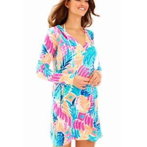 NWT Lilly Pulitzer Riley dress Goombay Smashed XS